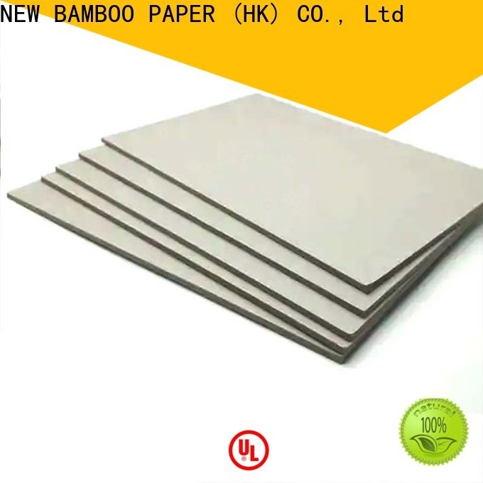 NEW BAMBOO PAPER chipboard carton gris 2mm buy now for boxes