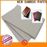 NEW BAMBOO PAPER binding cardboard paper factory price for hardcover books