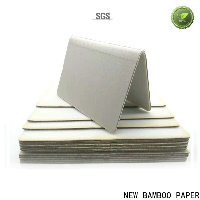 NEW BAMBOO PAPER board foam board sizes bulk production for desk calendars