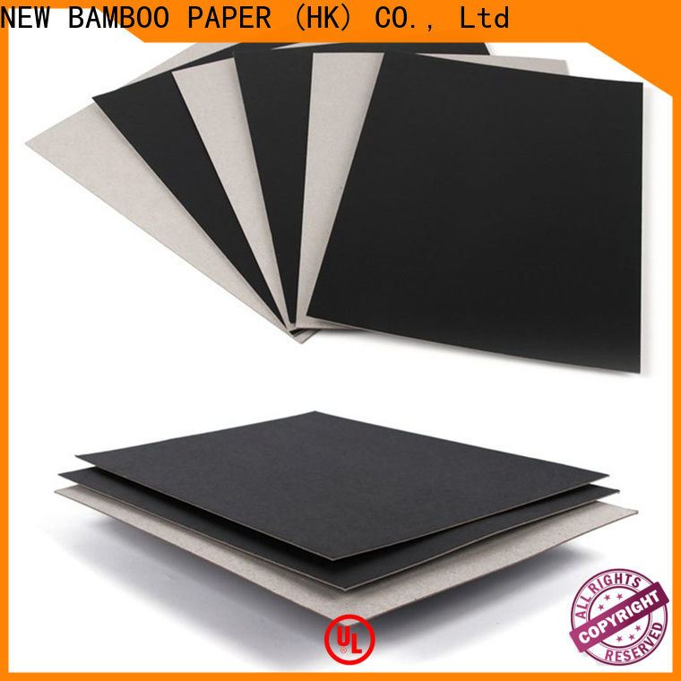 NEW BAMBOO PAPER inexpensive Painted black board vendor for book covers