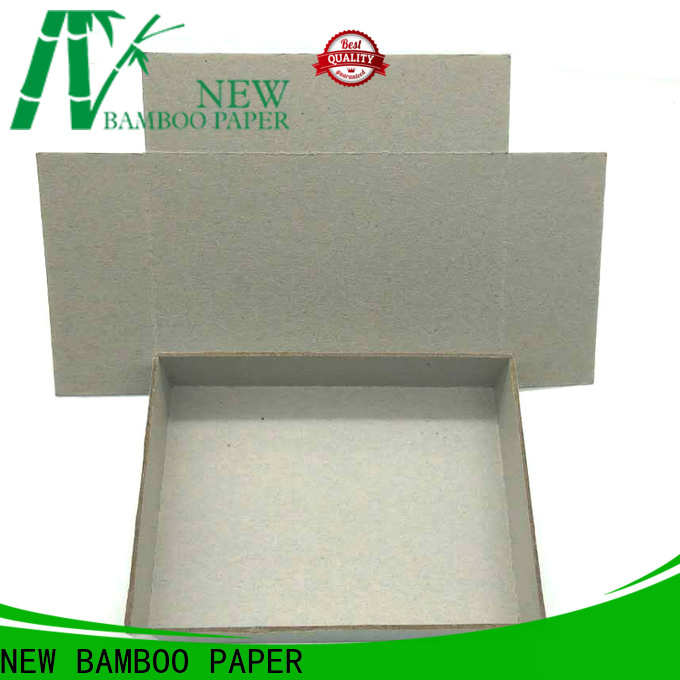 NEW BAMBOO PAPER chipboard grey cardboard sheets at discount for hardcover books