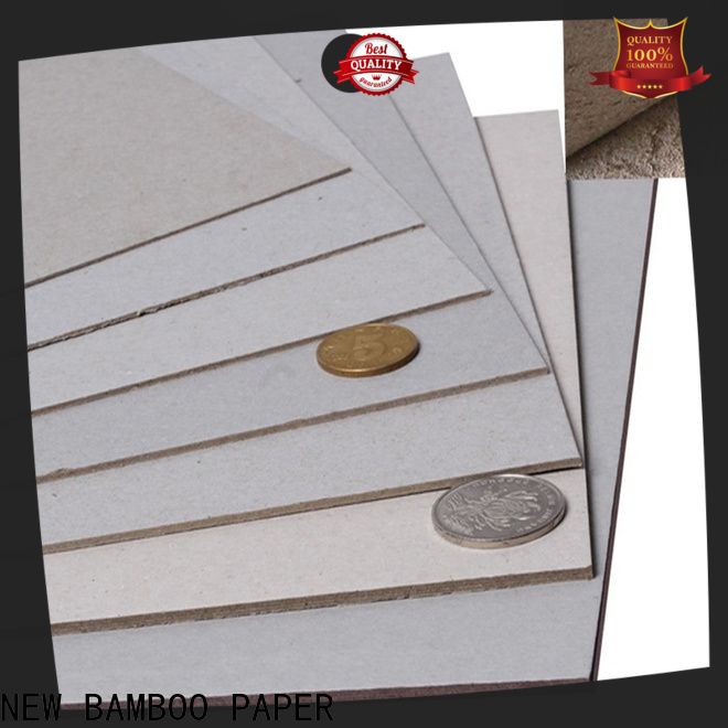 NEW BAMBOO PAPER binding gray board bulk production for boxes
