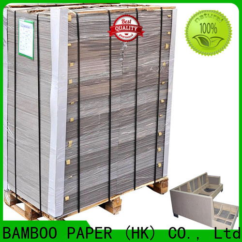 NEW BAMBOO PAPER luxury carton gris 2mm inquire now for folder covers