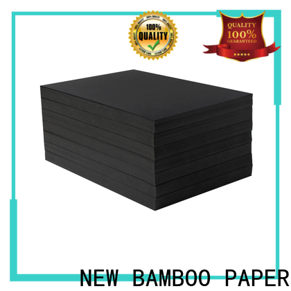 NEW BAMBOO PAPER fantastic  thick black cardboard free design for speaker gasket