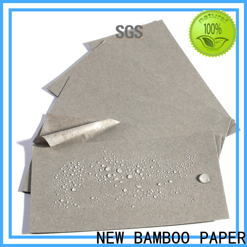 NEW BAMBOO PAPER customization coated paper roll certifications for frozen food