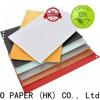 NEW BAMBOO PAPER excellent white back duplex board free design for crafts