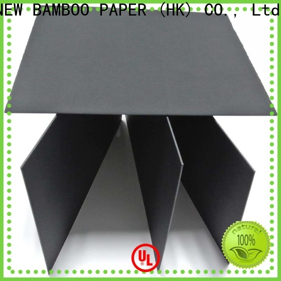 NEW BAMBOO PAPER packaging black paperboard check now for photo albums