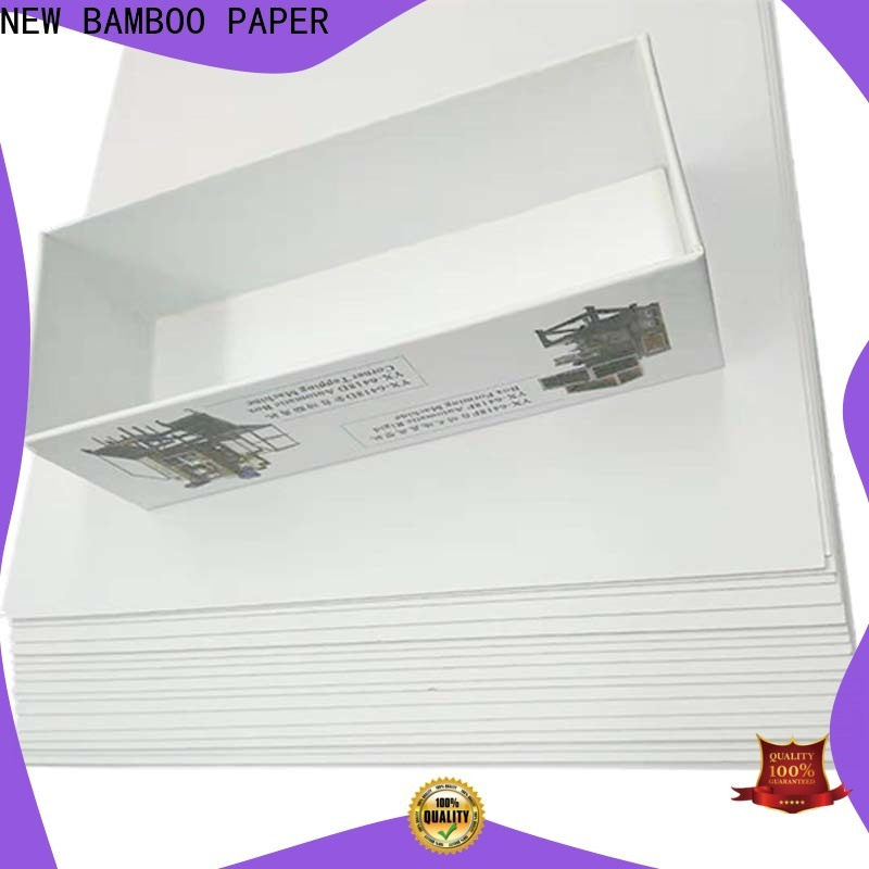 NEW BAMBOO PAPER duplex duplex paper board bulk production for cloth boxes
