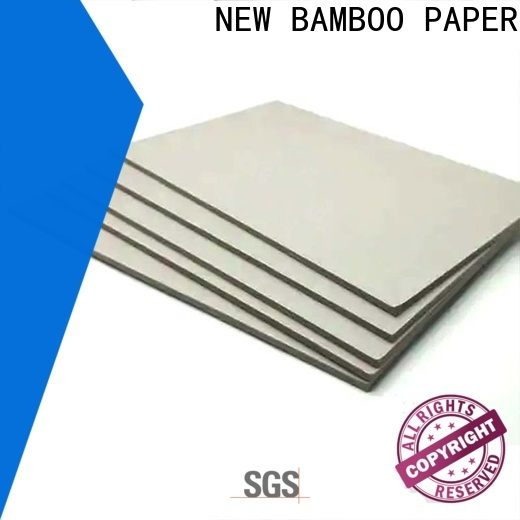 solid carton gris 2mm resistance free design for hardcover books