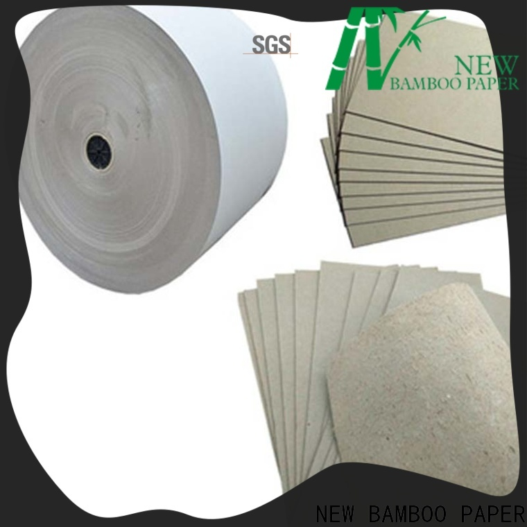 NEW BAMBOO PAPER anti grey paperboard bulk production for photo frames