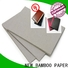NEW BAMBOO PAPER thick grey paperboard check now for folder covers