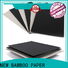 NEW BAMBOO PAPER thicknesses where to buy rolls of black paper factory for hardcover books