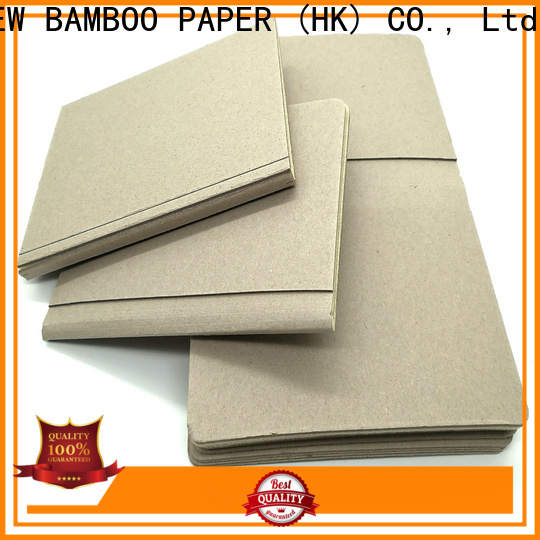NEW BAMBOO PAPER cover foam board sizes factory price for shirt accessories