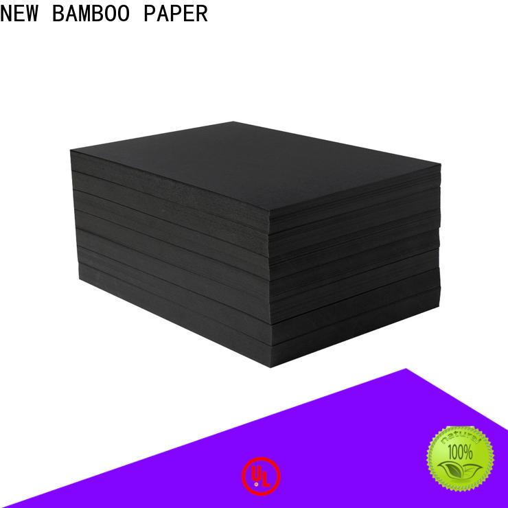 NEW BAMBOO PAPER grade black chipboard free design for photo album