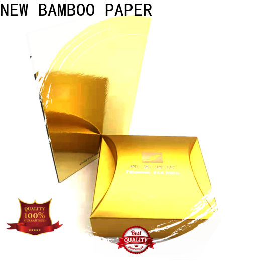 NEW BAMBOO PAPER cake gold foil board free design