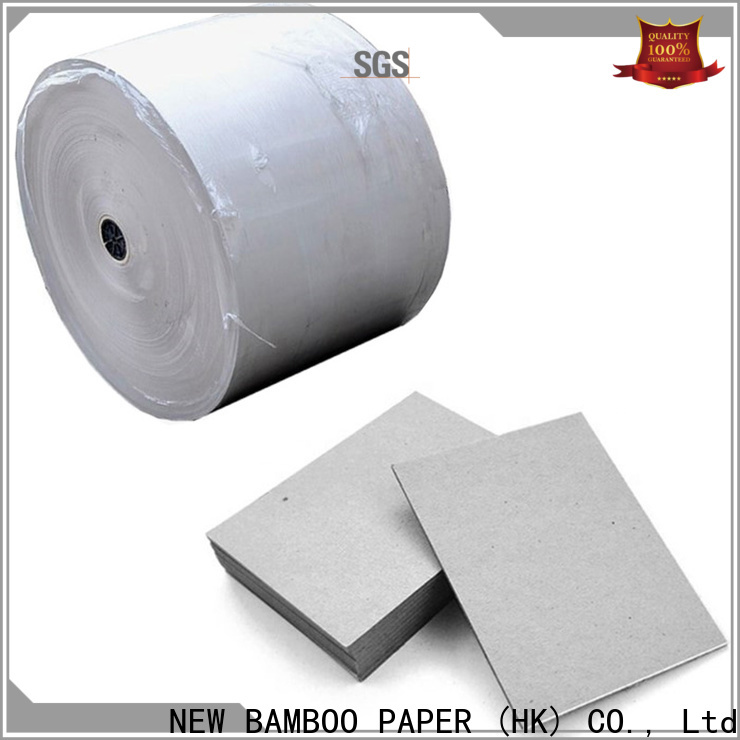 NEW BAMBOO PAPER book 2mm grey board from manufacturer for shirt accessories