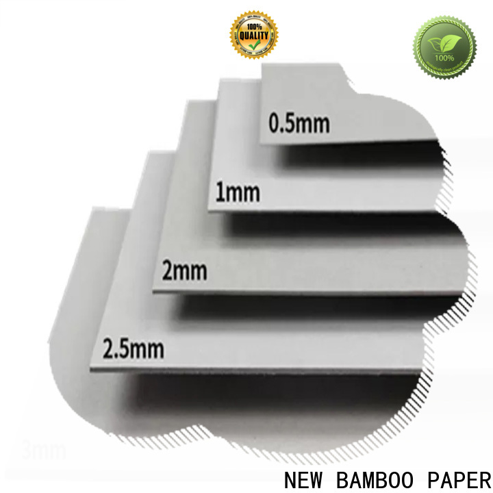 NEW BAMBOO PAPER excellent cardboard paper factory price for boxes