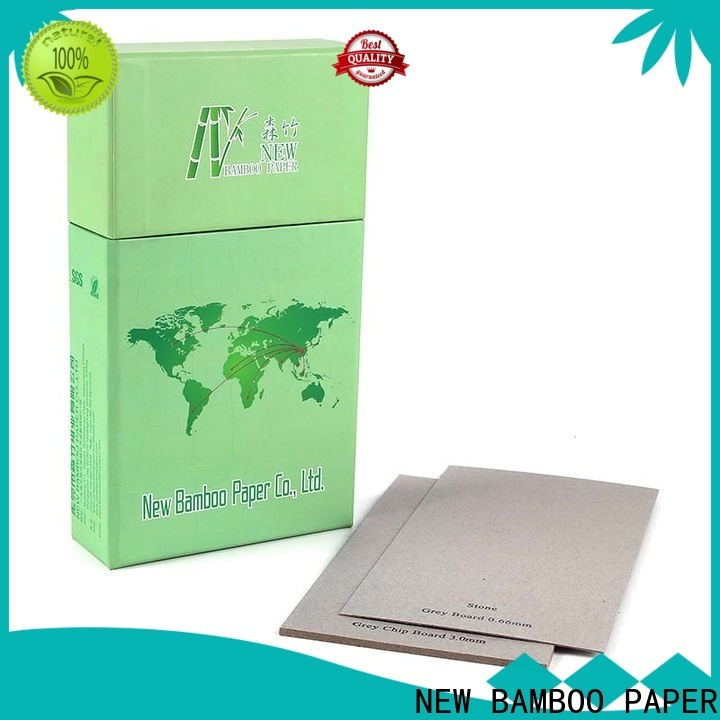 NEW BAMBOO PAPER superior carton gris at discount for packaging