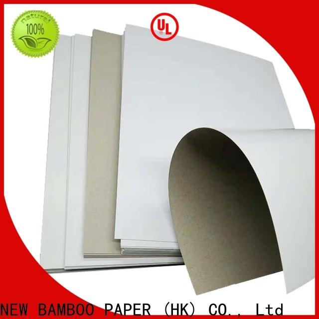 NEW BAMBOO PAPER fantastic white duplex paper bulk production for gift box binding
