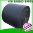 NEW BAMBOO PAPER reels black cardboard widely-use for speaker gasket