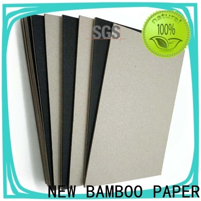 NEW BAMBOO PAPER industry-leading black cardboard sheets long-term-use for photo album