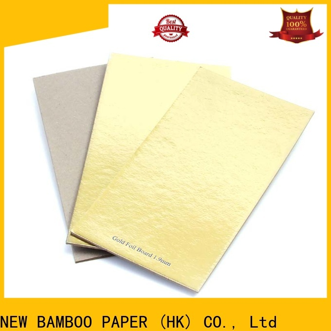 new-arrival foil board printing paper factory price for stationery