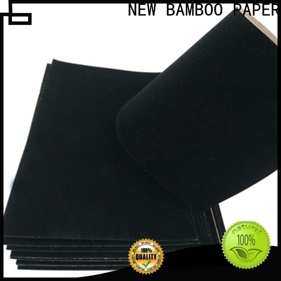 NEW BAMBOO PAPER flocked thick a4 cardboard sheets vendor