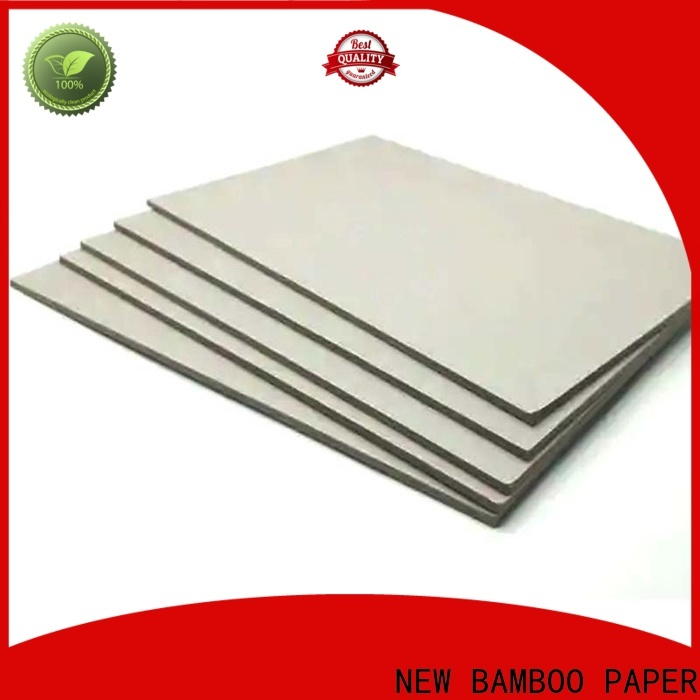 NEW BAMBOO PAPER solid paperboard at discount for desk calendars