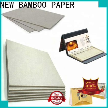 NEW BAMBOO PAPER useful paperboard at discount for hardcover books