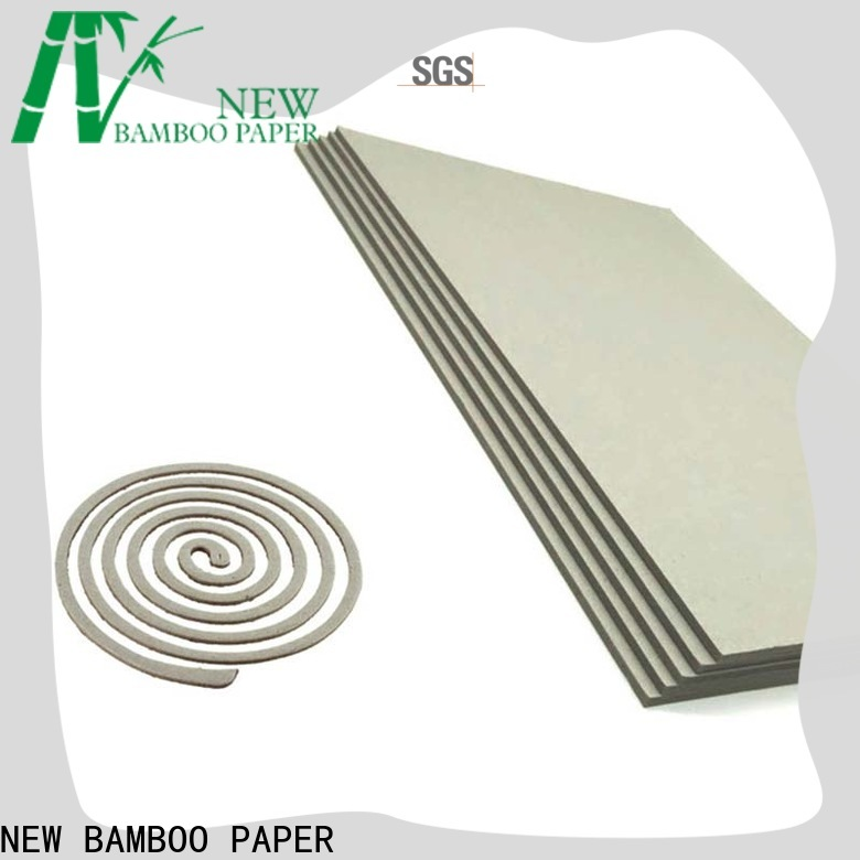 NEW BAMBOO PAPER excellent liner board factory price for book covers
