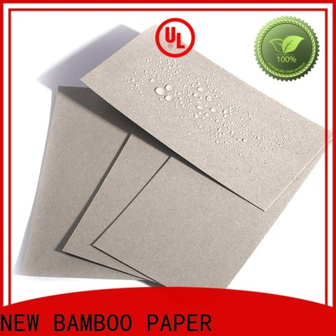 NEW BAMBOO PAPER moisture a2 cardboard paper free quote for packaging