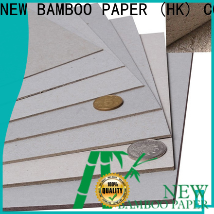 NEW BAMBOO PAPER superior hard cardboard sheets bulk production for book covers