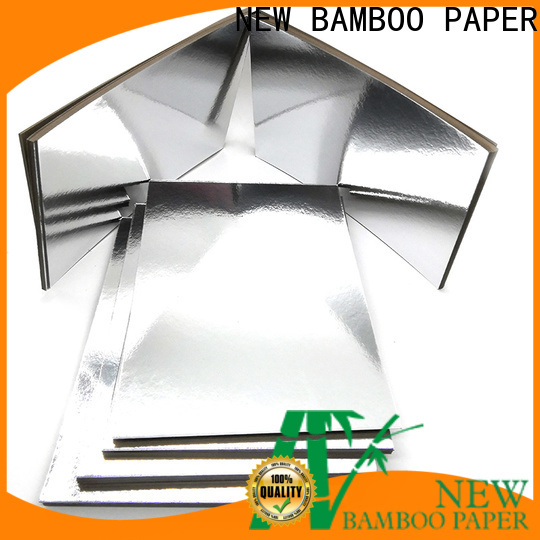 NEW BAMBOO PAPER grade 24 x 24 cardboard sheets long-term-use for packaging