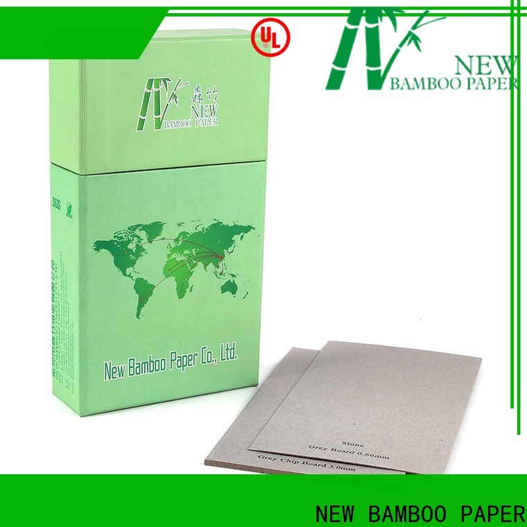NEW BAMBOO PAPER raw grey cardboard sheets from manufacturer for T-shirt inserts