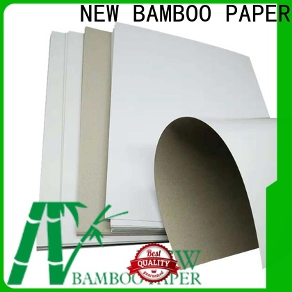 NEW BAMBOO PAPER boxes duplex board free design for crafts