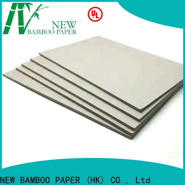 NEW BAMBOO PAPER layer kraft liner board for wholesale for stationery