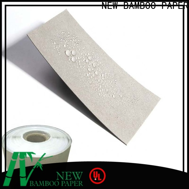 NEW BAMBOO PAPER side reinforced cardboard sheets certifications for packaging