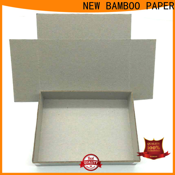 NEW BAMBOO PAPER high-quality laminated cardboard for wholesale for shirt accessories