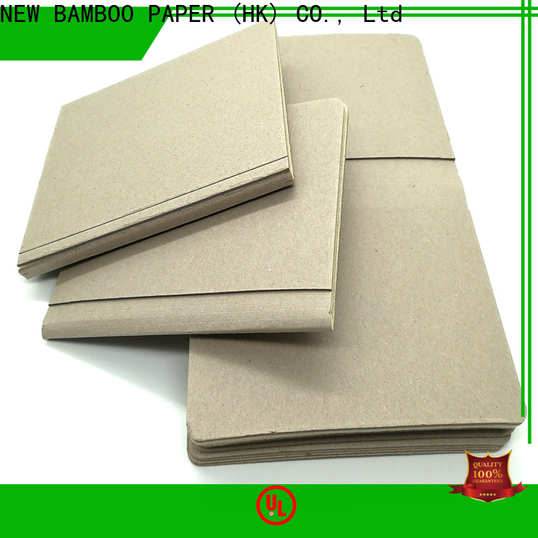 NEW BAMBOO PAPER coated foam board paper factory price for shirt accessories