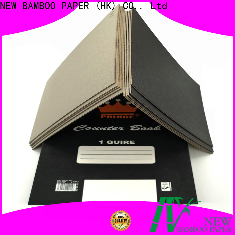 NEW BAMBOO PAPER industry-leading black cardboard sheets free quote for shopping bag