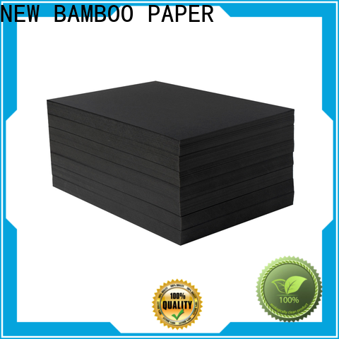NEW BAMBOO PAPER reels black paper sheet for booking binding