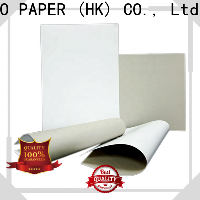 excellent duplex board gsm mixed bulk production for printing industry