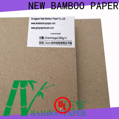 NEW BAMBOO PAPER superior liner board for shirt accessories