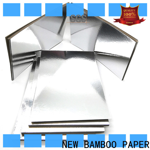 NEW BAMBOO PAPER excellent metallic foil paper for gift boxes