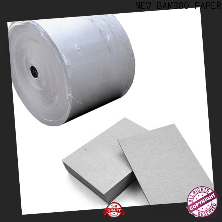 NEW BAMBOO PAPER chipboard cardboard paper for packaging