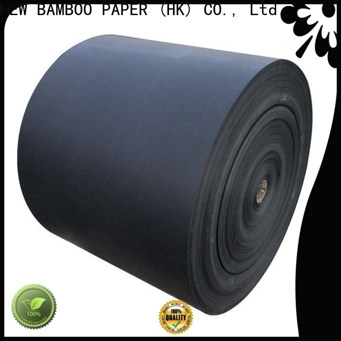 NEW BAMBOO PAPER shopping black chipboard sheets vendor for photo frame