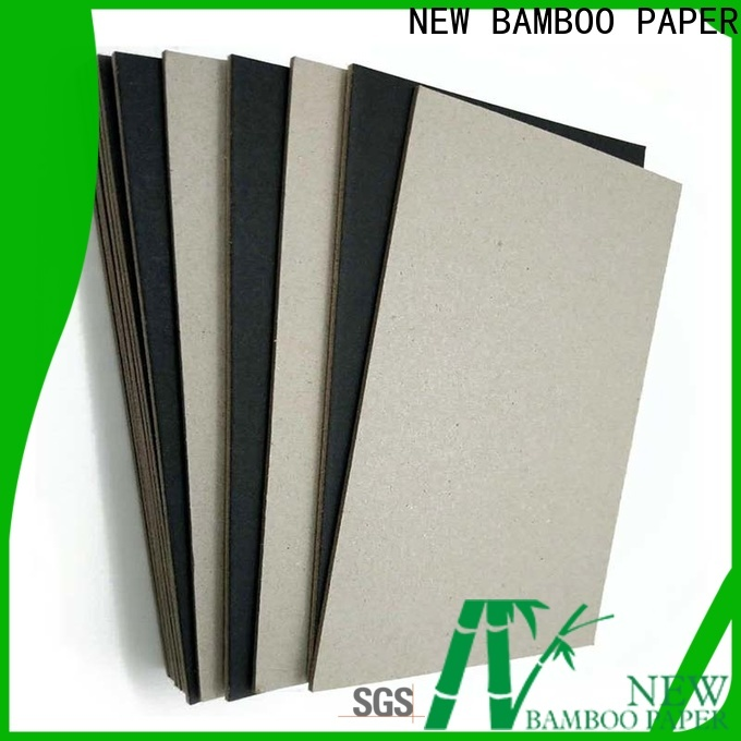 NEW BAMBOO PAPER reels black backing board free design for gift box