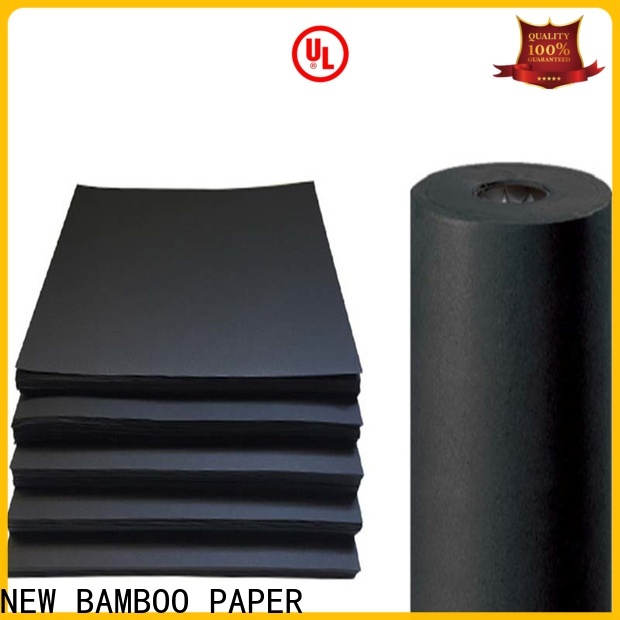 NEW BAMBOO PAPER scientific thick black cardboard for booking binding