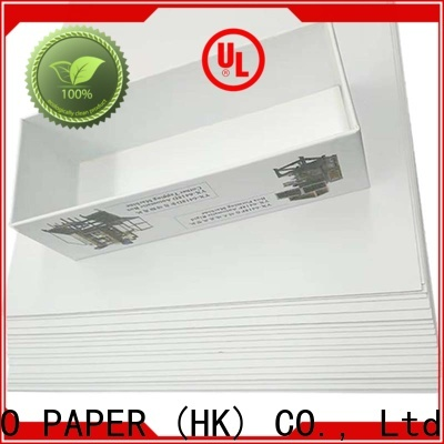 NEW BAMBOO PAPER grey duplex board gsm bulk production for cloth boxes
