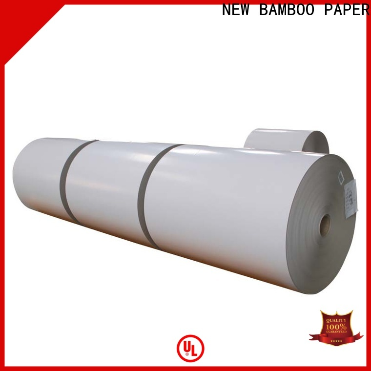 NEW BAMBOO PAPER side white corrugated plastic cardboard from manufacturer for cereal boxes